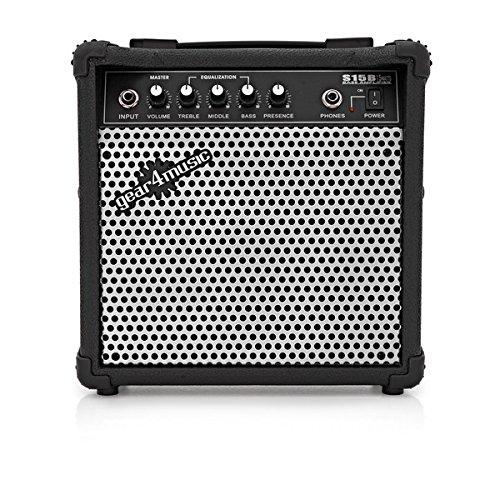 Amplificador Bajo Electrico 15 W Gear4music