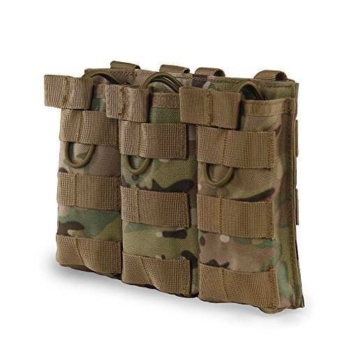Outry M4 M16 AR15 Magazine Pouch - Open Top Mag Holder -...