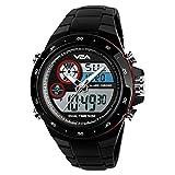 Skmei S-Shock Multi-Functional Analog Digital Sports Watch for Men's & Boys (1429-Red)