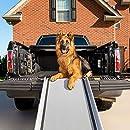 PetSafe Happy Ride Extra lange Teleskop-Hunderampe ? Tragbare Haustierrampe ? Ideal für Autos, Lkw und SUVs ? Robuster Aluminiumrahmen mit bis zu 136 kg Tragkraft ? rutschfeste Oberfläche