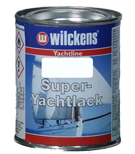 Wilckens Yachtline Super-Yachtlack 125ml, Farbe:RAL 9010 reinweiß