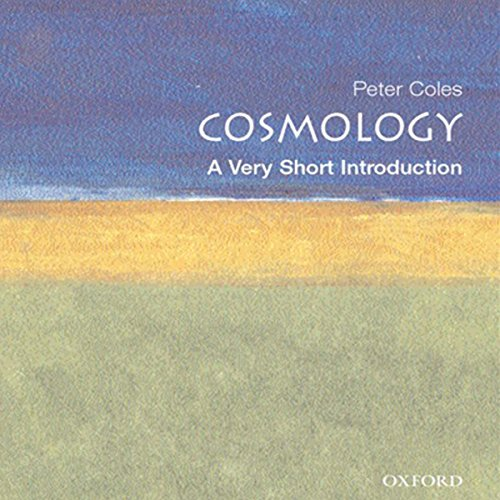 Cosmology audiobook cover art