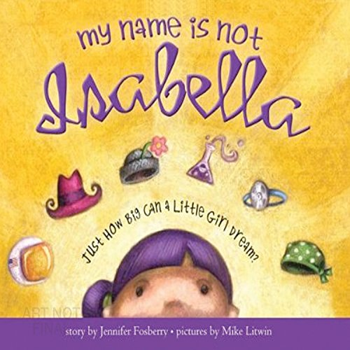 My Name Is Not Isabella audiobook cover art