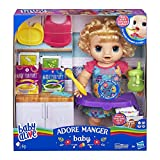 Baby Alive - Adore manger - Poupee cheveux blonds