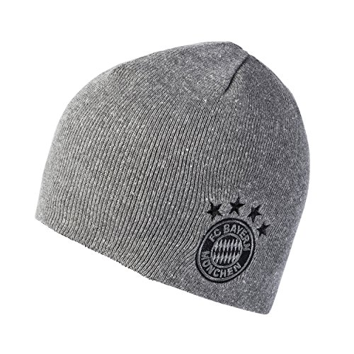 Bayern München Wendemütze - grau/schwarz - eine Größe