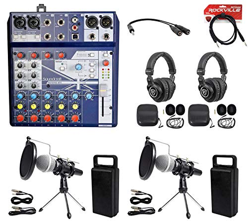 2 Person Podcasting Podcast Kit