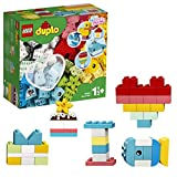 LEGO DUPLO Classic Heart Box 10909 First Building Playset and Learning Toy