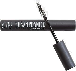 Susan Posnick Cosmetics Colorcoated Mascara, Black, 0.24 Ounce