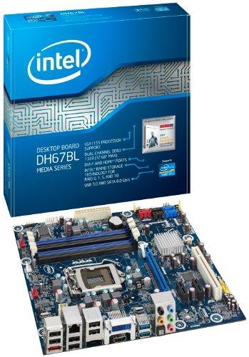 DH67BL Desktop Motherboard