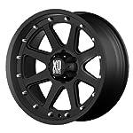 XD Series by KMC Wheels XD798 Addict Matte Black Wheel