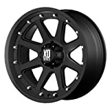 XD Series by KMC Wheels XD798 Addict Matte Black Wheel (18x9'/6x114.3mm, +18mm offset)