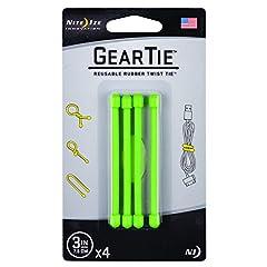 Reusable Gear Ties (4-pack)