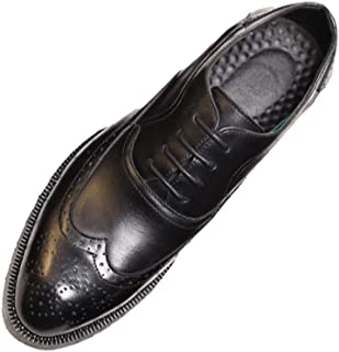[PIRN] メンズ ビジネスシューズ 本革 ウイングチップ オフィス フォーマル ドレス 冠婚葬祭 就活 フォーマル シークレット 柔軟性 ウォーキング 防滑 通勤 カジュアル ファッション 通気性 紳士靴 ドレスシューズ