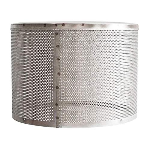 ZLH Cubierta De Red del Calentador, Accesorios De Red De Calefacción De Seguridad De Acero Inoxidable para Estufa De Gas, Accesorios De 23 Cm De Diámetro