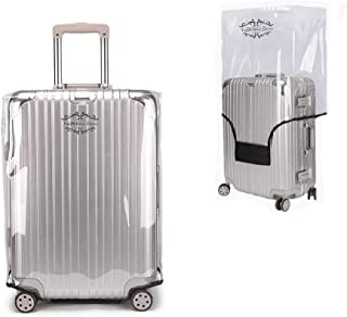 clear suitcase covers