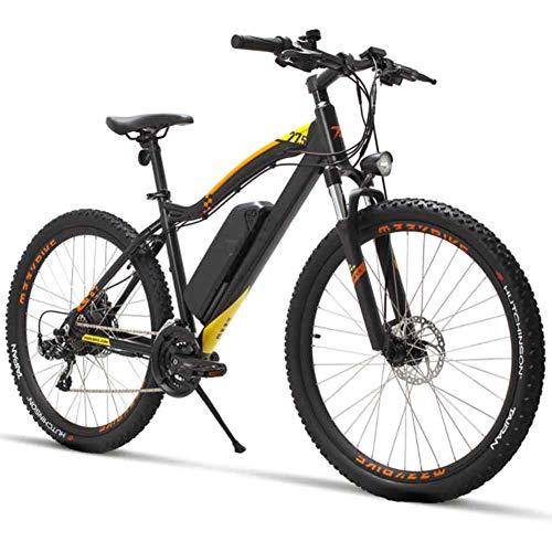XFY Adulte Électrique VTT avec 400W 48V Batterie au Lithium, avec Pédales de Bicyclette Lumière...