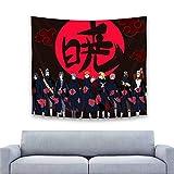 Tapiz de Naruto para colgar en la pared, tapiz de estilo Anime para dormitorio, decoración decorativa para el hogar, 150 cm x 130 cm
