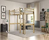 Strictly <span class='highlight'>Beds</span> and Bunks - Icarus <span class='highlight'>High</span> Sleeper Loft Bunk Bed, 2ft 6 Single