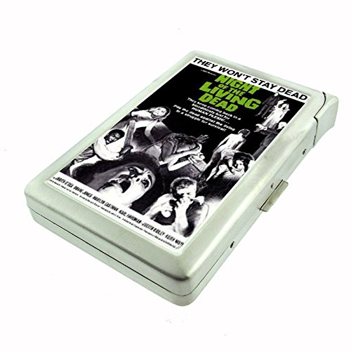 Night Of The Living Dead Zombies Cigarette Case with Built In Lighter D-100