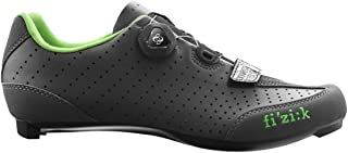Fizik 2016 Mens R3B Uomo Boa Road Sport Cycling Shoes - Anthracite/Green 41