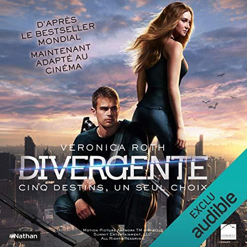 Divergente audiobook cover art