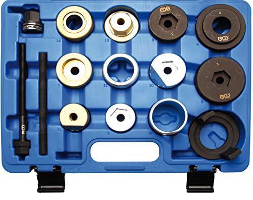 BGS 8776 | Hinterachsbuchsen-Werkzeug-Satz | für BMW E36, E46, E85