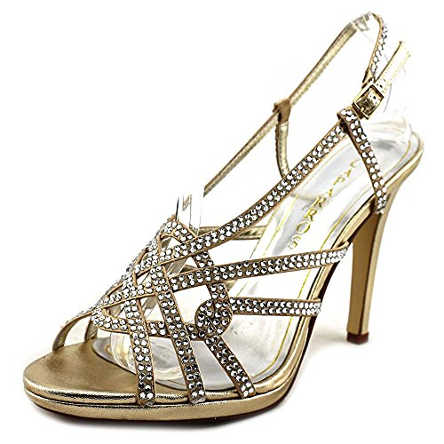 Caparros Vegas Women US 8.5 Gold Sandals