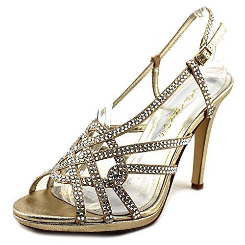 Caparros Vegas Women US 8.5 Gold Sandals