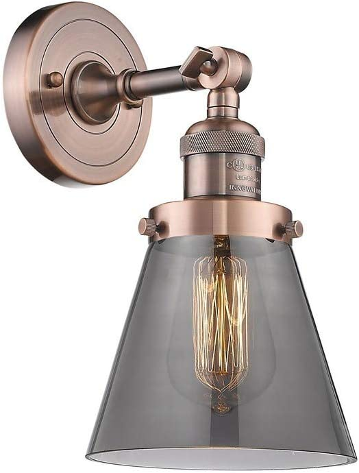 Innovations New product!! Lighting 203-AC-G63 Small Cone - 1 Ranking TOP8 Light 10 Inch Wal