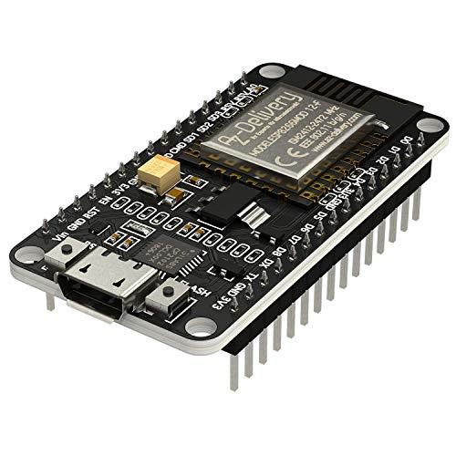 AZDelivery ESP8266 ESP-12F NodeMCU Amica V2, Modulo Wifi IoT con CP2102, Placa de Desarrollo compatible con Arduino con...