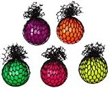 Rhode Island ovelty BASQGRA Mesh Squishy Ball (25 Pack), Assorted Colors