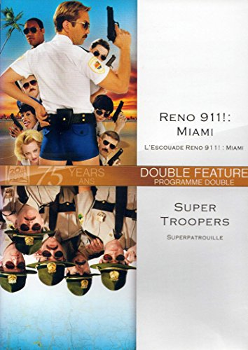 Reno 911! Miami / Super Troopers (Double Feature)