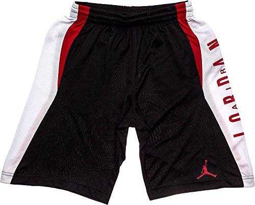 NIKE Jordan Boy's Knit Takeover Shorts (Black, Medium)