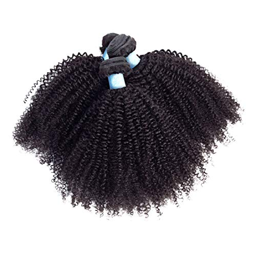 Afro curly hair weave _image2