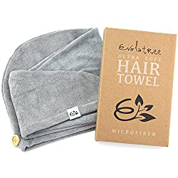 The Best Gifts for Teenage Girls Microfiber Hair Towel for Teen Girl Gift Basket
