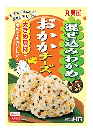 丸美屋食品工業 混ぜ込みわかめ (おかかチーズ) 31g ×10袋