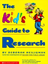 The Kid's Guide To Research