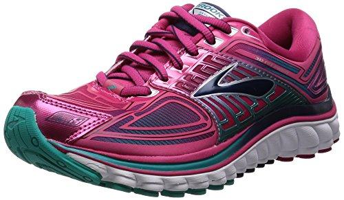 Brooks Women's Glycerin 13 Running Shoe - Anthracite/Ice Green/Hollyhock - 7.5 B(M) US