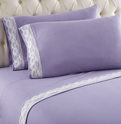 Get The Thermee Micro Flannel Sheet Sets Cal King Lilac From Amazon Now Ibt Shop
