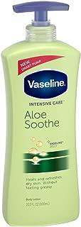 Vaseline Intensive Care Aloe Soothe Lotion, 20.3 oz