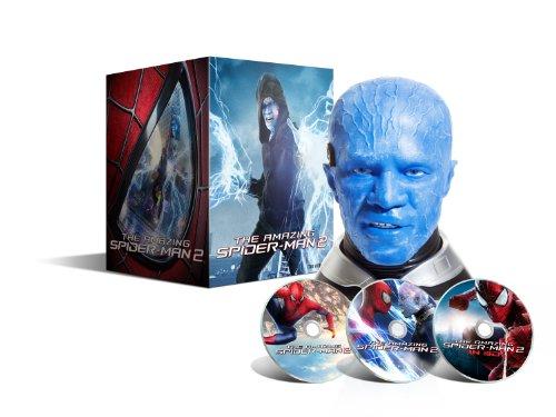 The Amazing Spider-Man 2: Das Schicksal eines Helden–Blu-ray 3D + Blu-ray + DVD + Digital Ultraviolet–Coffret Collector Druckkopf Electro–Limitierte Edition exclusive Amazon. fr