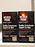 Weider Prime Healthy Testosterone Support for Men (2 Bottles (240 Capsules))