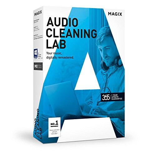MAGIX Audio Cleaning Lab 2017 - Record, edit, optimize and convert audio (audio grabber)