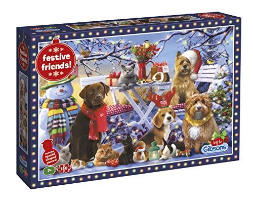 Gibsons G1115 Festive Friends Puzzel 150 delen