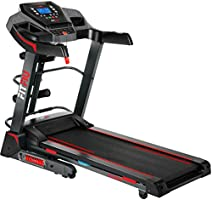 Fitfiu Fitness MC-100 - Cinta de correr plegable con velocidad ajustable hasta 10 km/h, inclinación manual, superficie...