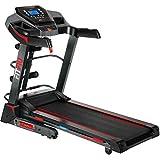 FITFIU Fitness HSM-MT12, Tapis Roulant Pieghevole con Inclinazione Automatica, 2200 W, Massimo 18 Km/h Unisex – Adulto, Nero, M