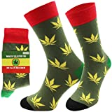 CHiLI Lifestyle Socks - Motivsocken - Lustige Socken - Bunte Socken - Witzige Socken - verrückte, modische und ausgefallene Socken - Geschenkidee - Baumwolle - Variation: Joint, 41-44
