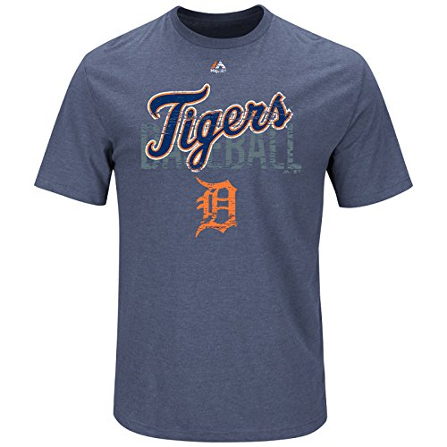 Majestic MLB T-Shirt Detroit Tigers All in The Game Baseball (L)