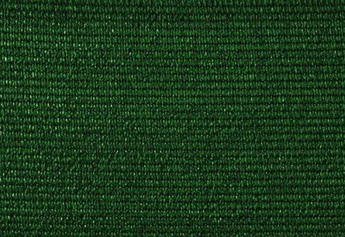 PEGANE Brise Vue, Toile HDPE 300gr au m2 en PVC Double Face en Rouleau de 3 m Coloris Vert, 1,50 m x 10 m