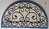 OVERCASA ZERBINO in Cocco A Spazzola Oregon SEMICERCHIO CM 45X75